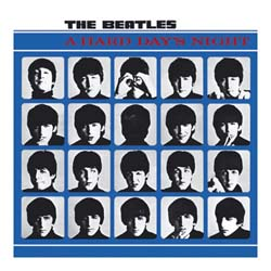 The Beatles Greetings Card: A Hard Days Night