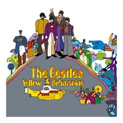 The Beatles Greetings Card: Yellow Submarine