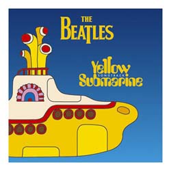 The Beatles Greetings Card: Yellow Submarine Songtrack