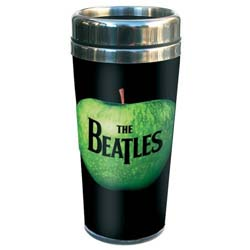 The Beatles Travel Mug: Apple with Premium Ceramic Body