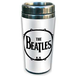 The Beatles Travel Mug: Drum with Premium Ceramic Body