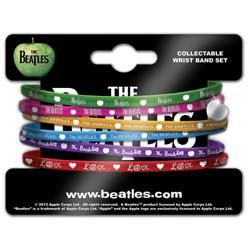 The Beatles Gummy Wristband: Apple
