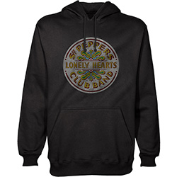 The Beatles Men's Pullover Hoodie: Sgt Pepper