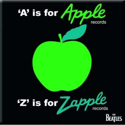 The Beatles Fridge Magnet: A is for Apple