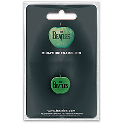 The Beatles Mini Pin Badge: Apple Mini