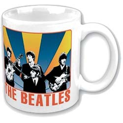 The Beatles Boxed Standard Mug: Shine Behind