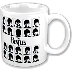 The Beatles Boxed Standard Mug: Hard Days Night Graphic