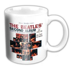 The Beatles Boxed Standard Mug: US 2nd Album