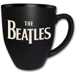 The Beatles Boxed Premium Mug: Logo with Matt & Laser Etched Finish