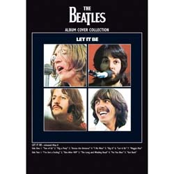 The Beatles Postcard: Let it Be (Standard)