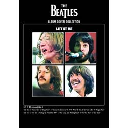 The Beatles Postcard: Let it Be (Giant)