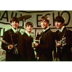 The Beatles Postcard: Daily Echo (Large)