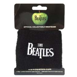 The Beatles Sweatband: Drop T Logo