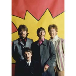 The Beatles Postcard: LSD Portrait (Standard)