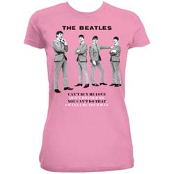 The Beatles Ladies Fashion Tee: You can't do that