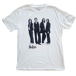 The Beatles Men's Tee: Iconic Image with Sublimation Printing