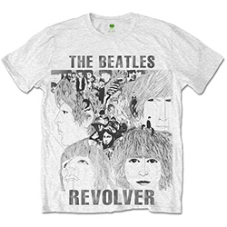 The Beatles Men's Tee: Revolver with Sublimation Printing