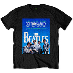 The Beatles Men's Tee: 8 Days a Week Movie Poster