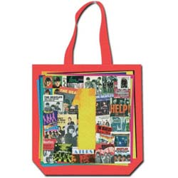 The Beatles Cotton Tote: 1s