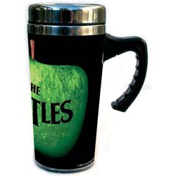 The Beatles Travel Mug: Apple with Premium Stainless Steel Body