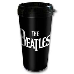 The Beatles Travel Mug: Drop T with Plastic Body