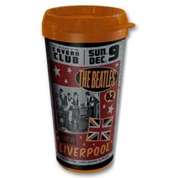 The Beatles Travel Mug: Live in Liverpool with Plastic Body