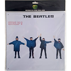 The Beatles Metal Wall Sign: Help!