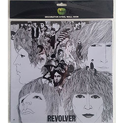 The Beatles Metal Wall Sign: Revolver