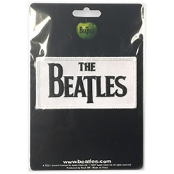 The Beatles Standard Patch: Drop T Logo