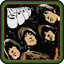 The Beatles Standard Patch: Rubber Soul Album (Iron On)