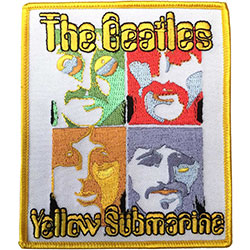 The Beatles Standard Patch: Sea of Science (Iron On)