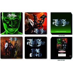The Black Eyed Peas Coaster Set: Mixed Designs
