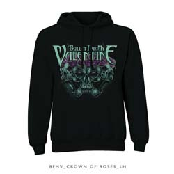 Bullet For My Valentine Men's Pullover Hoodie: Crown of Roses