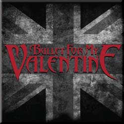 Bullet For My Valentine Fridge Magnet: UK Flag