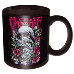 Bullet For My Valentine Boxed Standard Mug: Skull Red Eyes