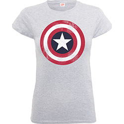 Marvel Comics Kid's Tee: Captain America Distressed Shield