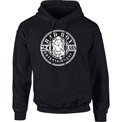 Biggie Smalls Men's Pullover Hoodie: Bad Boy 20 Years