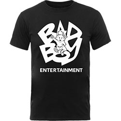 Biggie Smalls Men's Tee: Bad Boy Baby
