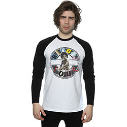 Biggie Smalls Men's Raglan Tee: Bad Boy Baby