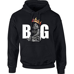 Biggie Smalls Men's Pullover Hoodie: Big Crown