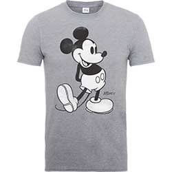 Mickey Mouse Men's Tee: Classic Kick
