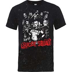 DC Comics Men's Tee: Suicide Squad Harley's Gang