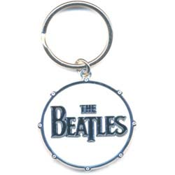 The Beatles Standard Key-Chain: Drum Logo