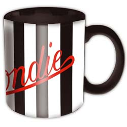 Blondie Boxed Standard Mug: Parallel Lines Logo