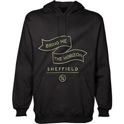 Bring Me The Horizon Men's Pullover Hoodie: Banner
