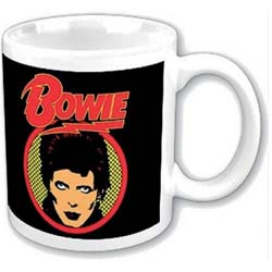 David Bowie Boxed Premium Mug: Diamond Dogs Flash Logo