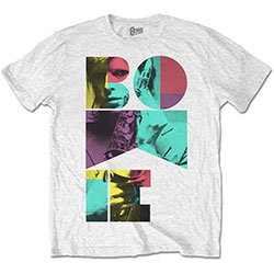 David Bowie Men's Tee: Colour Sax