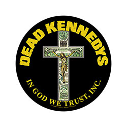 Dead Kennedys Back Patch: In God We Trust