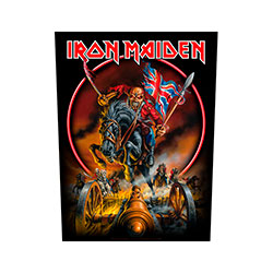 Iron Maiden Back Patch: England