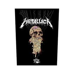 Metallica Back Patch: One / Strings